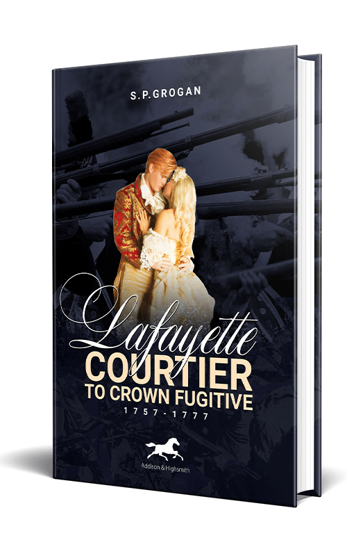 S.P. Grogan will sign his new book Lafayette at The King's English Bookshop in Salt Lake City on Wednesday, January 22