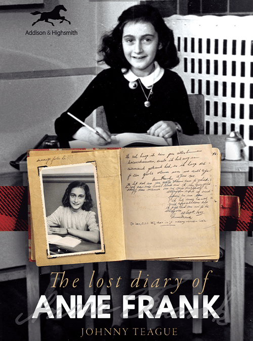 cover of The Lost Diary of Anne Frank by Johnny Teague
